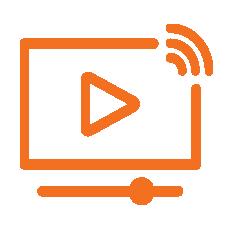 IT, Audio Visual & Security representative icon Systems