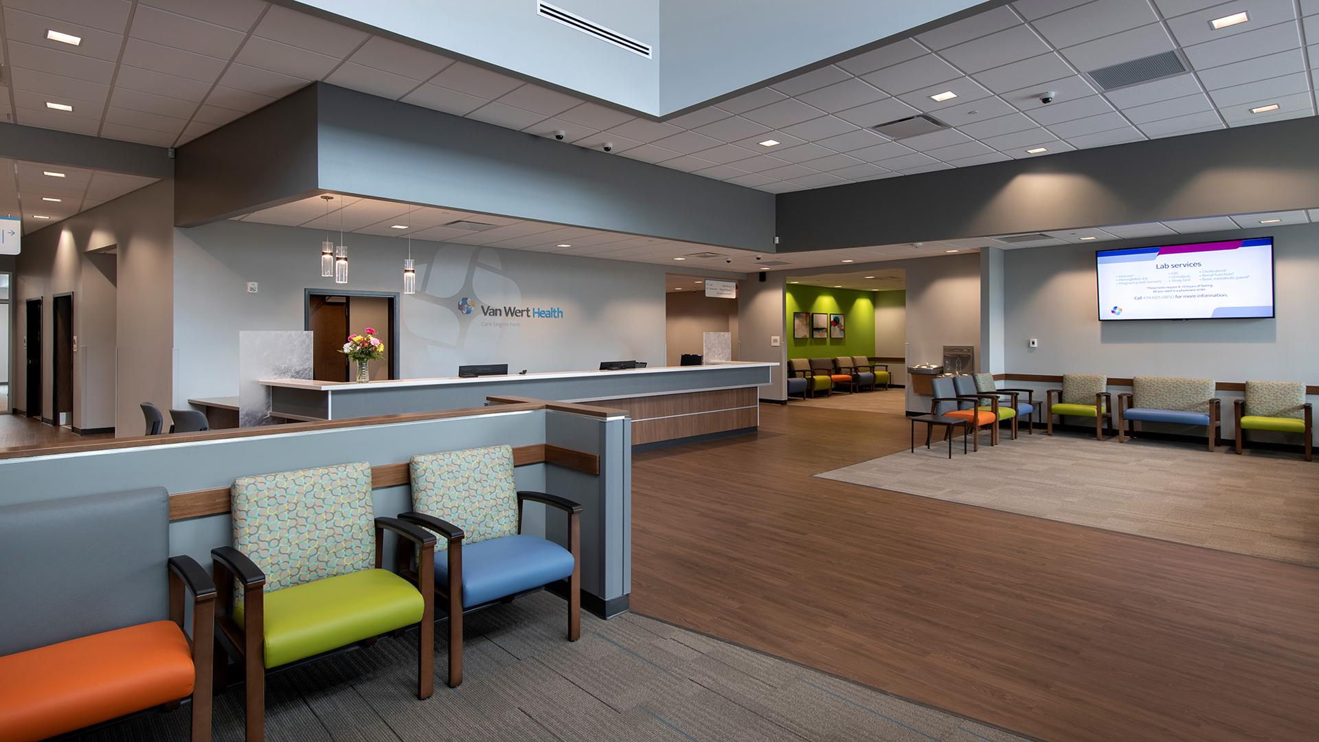 Van Wert Health - Interior Photo, Waiting Area Interior Design