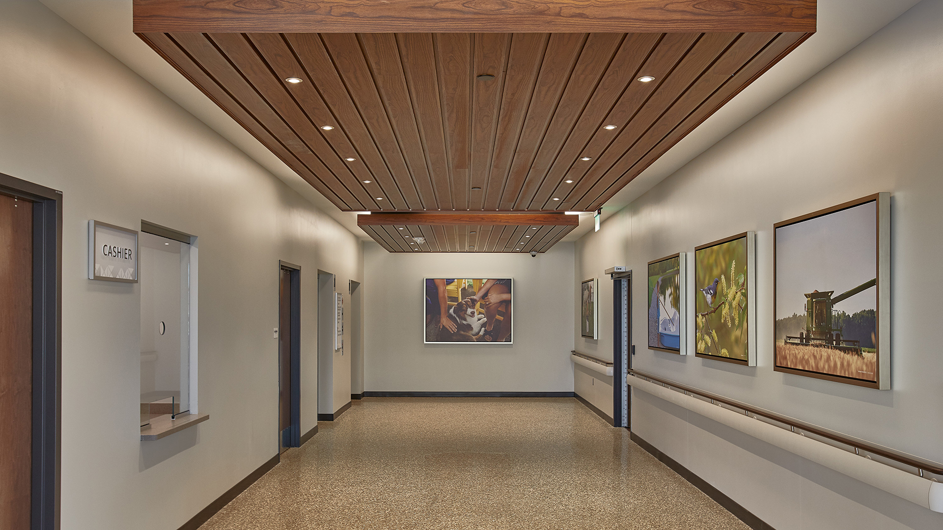 Van Wert Health Surgery and Inpatient Center Surgery Expansion Side Hall