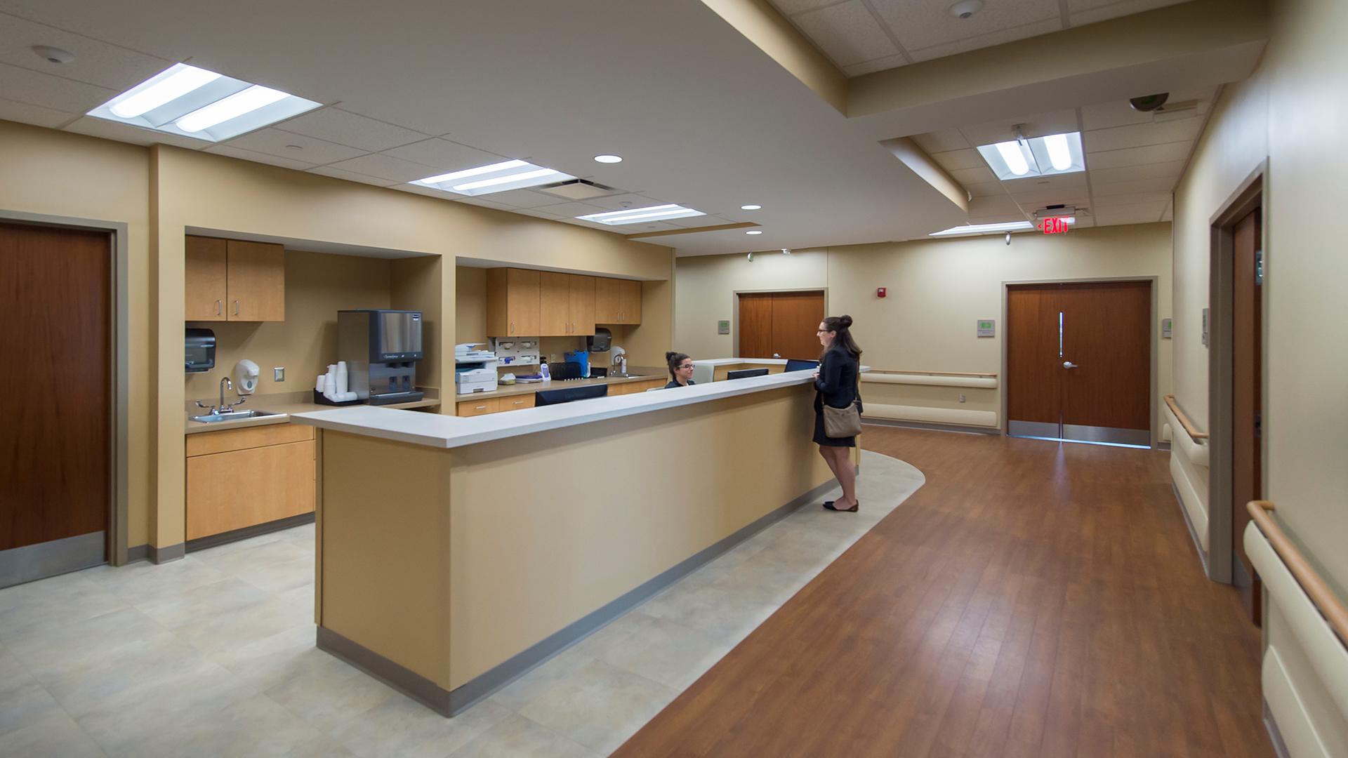 Parkview Health – Rapid Diagnostic Unit RDU Desk