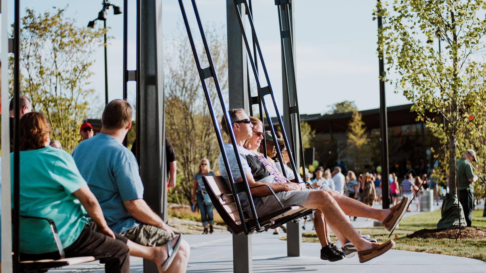 Promenade Park Swing