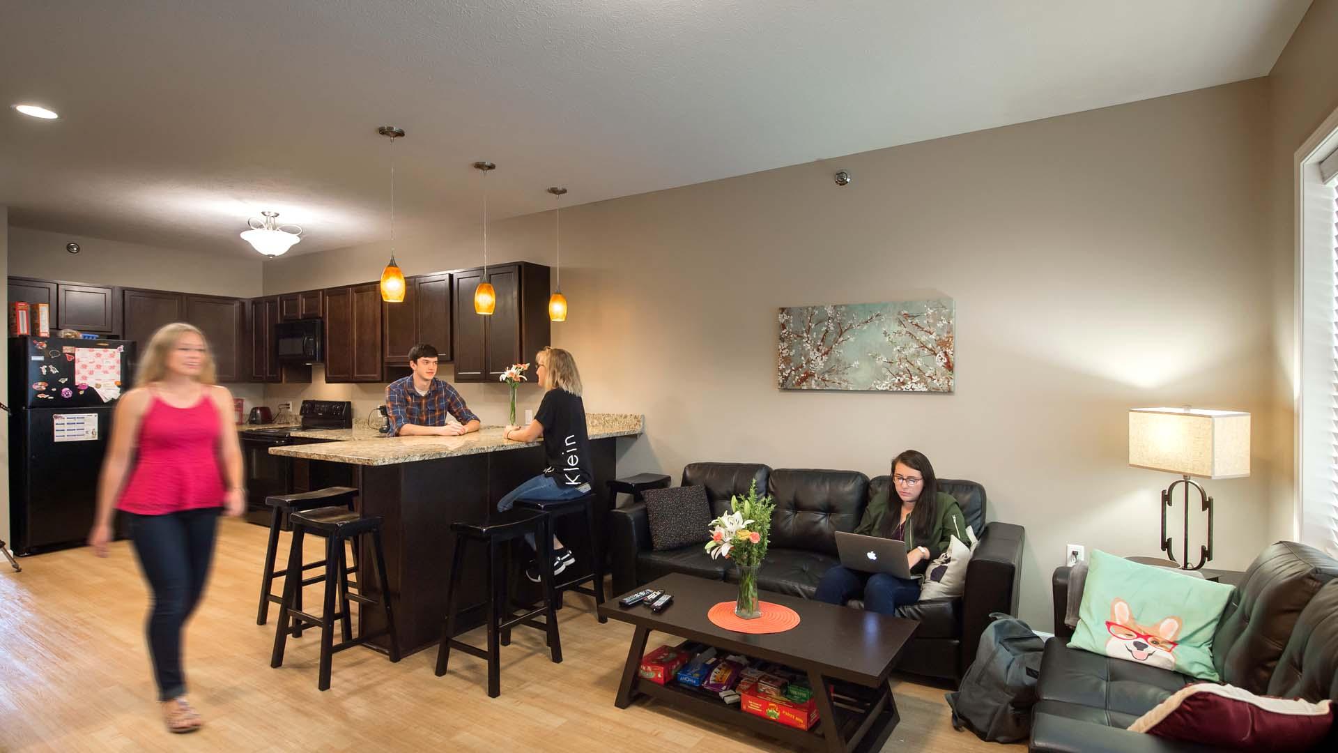 Grace College – Lancer Lofts Living Space